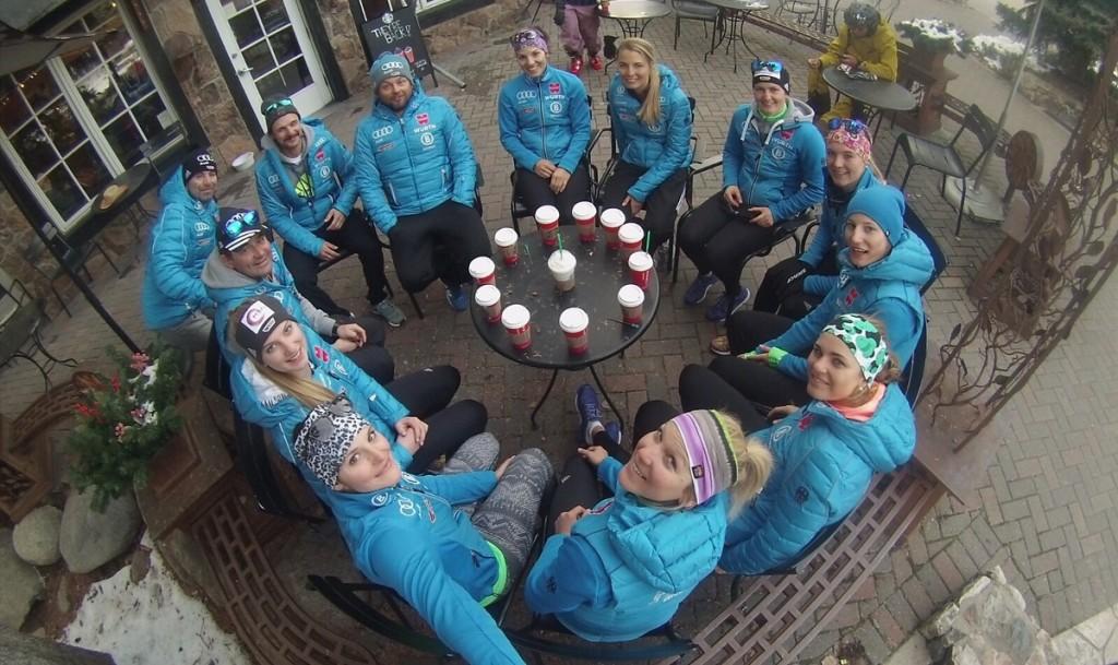 Jessica Hilzinger Aspen 2015 Team