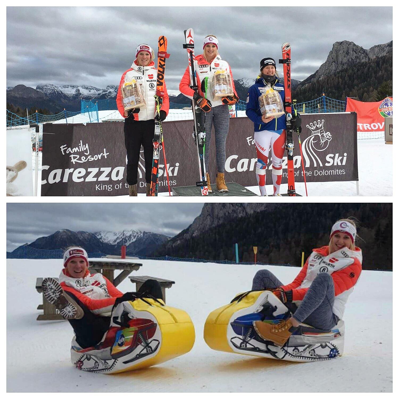 Jessica Hilzinger GS FIS Sieg Carezza