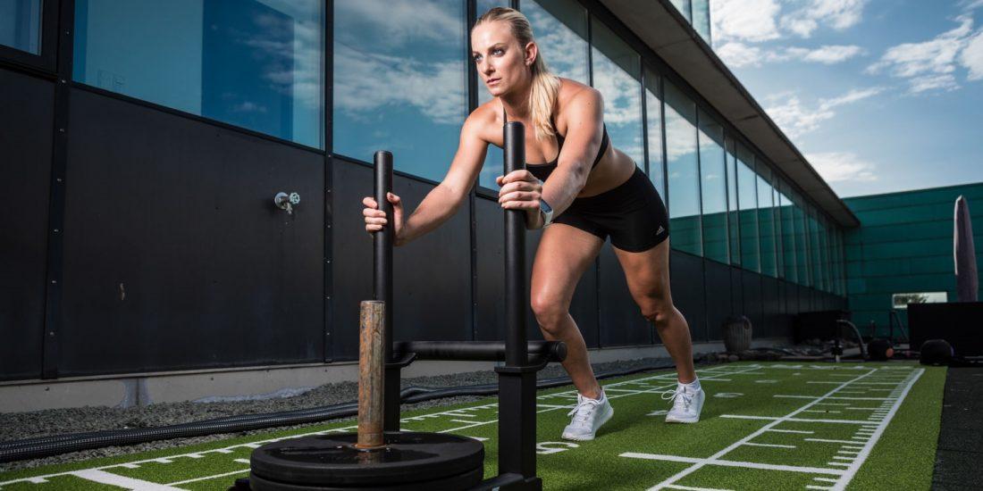 Jessica Hilzinger Fitnessstudio 2017